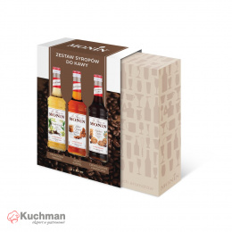 MONIN COFFEE SET - MINIATURKI KAWOWE SCM IV 3X50ml