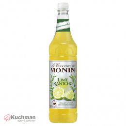 MONIN RANTCHO LIME - koncentrat limonkowy 1 L PET